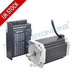 1 Axis CNC Kit 13Nm Nema 34 Stepper Motor 5A 150mm & Stepper Driver DM860T