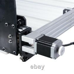 11M 4Axis CNC Router Machine Kit Milling Engraver + Cable Chain Set 2.2KW