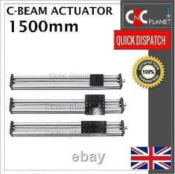 1500mm Lead Screw X Y or Z-AXIS KIT CNC ROUTER PLASMA C-BEAM LINEAR ACTUATOR