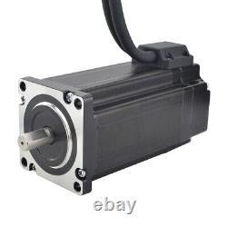 3 Axis 4Nm Nema 24 Closed Loop Stepper Motor 5A Servo Driver CL57T CNC Kit