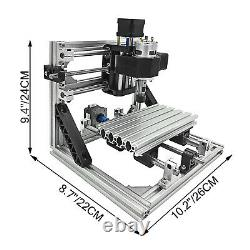 3 Axis CNC Router Kit 1610 2500MW USB Port T8 Screw With Laser Engraver DIY
