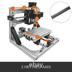 3 Axis CNC Router Kit 1610 Engraver T8 Screw Machine 2020 Aluminium Profiles