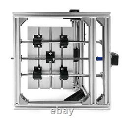 3 Axis CNC Router Kit 2418 2500MW PVC Injection Molding Material DIY T8 Screw