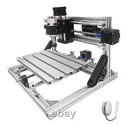 3 Axis CNC Router Kit 2418 Engraver 2020 Aluminium Profiles Engraving Tools DIY