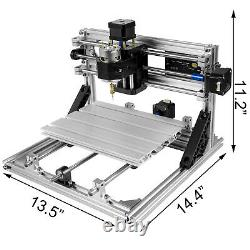3 Axis CNC Router Kit 2418 Engraving Machine with Offline Controller for Wood PVC