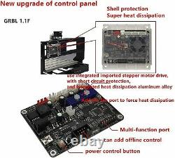 3 Axis CNC Router Kit 3018 USB Laser Engraver Wood PVC PCB Milling EngravingES