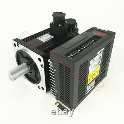 3 Axis Controller 750W AC Servo Motor NEMA34 2.4NM 3000RPM Kit for CNC Milling