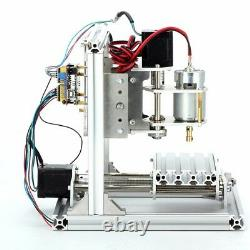 3 Axis DIY CNC Router Kit Desktop Mini Mill Wood Engraving PCB Milling Machine