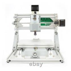 3 Axis DIY CNC Router Kit Wood Carving Engraver PCB Milling Machine+2500mw Laser