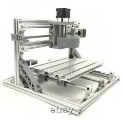 3 Axis DIY CNC Router Kit Wood Carving Engraving Milling Machine+2500mW Laser
