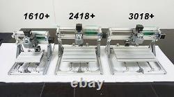 3 Axis Mini DIY CNC 3018+ Router Kit PCB Milling Engraving Machine +1000mW Laser