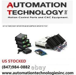3-Axis NEMA23 CNC Kit, 381 oz-in Stepper Motor, 48VDC, 7.3A