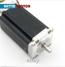3 Axis Nema 23 Dual Shaft Stepper Motor 425oz-in 3A+ Driver MACH3 CNC Router Kit