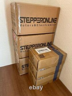3 Axis Stepper CNC Kit 12Nm(1700oz. In) Nema 34 Steper Motor & Stepper Driver Kit