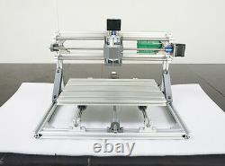 3 Axis USB DIY CNC 3018+ Mill Wood Router Kit Engraver PCB Milling Machine ER11