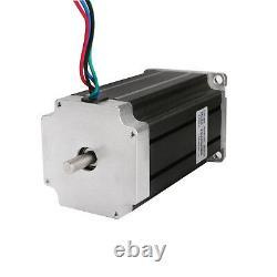 3 axis Nema23 stepper motor 425oz-in Dual & Drivers DM542A CNC kit