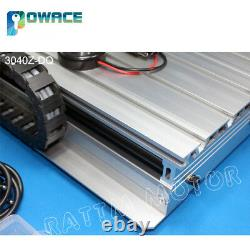 3040Z-DQ 3 Axis LPT Port 500W 220V CNC Engraver Router SFU1204 Ballscrew KitUK