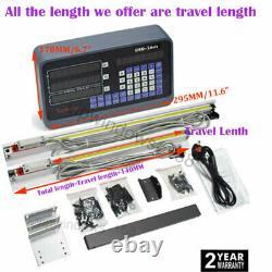 3Axis 2Axis Digital Readout DRO Display & Linear Scale TTL Glass Sensor Kit CNC