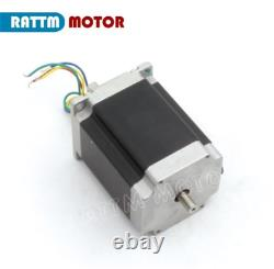 3Axis CNC Router Nema23 270oz-in 3A Stepper Motor MD430 Driver Kit +Power Supply