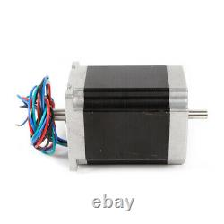 3Axis Nema 23 Stepper Motor 270oz-in &Driver 4.2A CNC Router kit+power supply