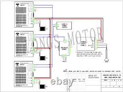 3Axis Nema23 stepper motor 23HS9430B 425oz-in Dual & Drivers DM545A CNC KIT