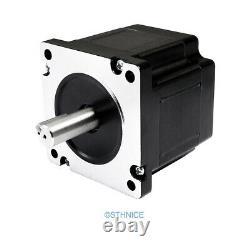 4.5N. M Nema34 Stepper Motor CNC Kit 3 Axis EMA2-070D56 Stepper Driver 48V PSU