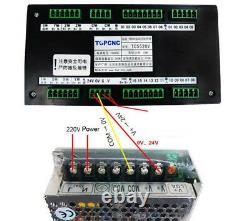 4.5NM 5.6A Closed loop Stepper Motor NEMA34 Driver 4Axis 2phase CNC Router Kit