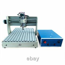 4 Axis CNC 3040 Router Engraver Drill Milling Machine 3D Engraving Machine Kit