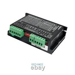 4 Axis CNC Kit Mach3 Standard Control Board & EMA2-050D42 Stepper Drivers