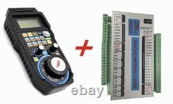 4 Axis CNC Router Kit 12Nm Nema 34 Stepper Motor, Driver, Motion Card Mach3
