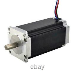 4 Axis CNC Router Kit 3Nm Nema 23 Stepper Motor & Stepper Driver & Power Supply