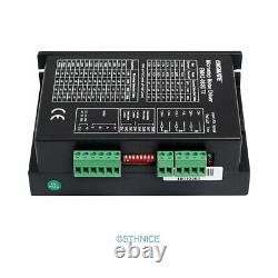 4 Axis DIY CNC Kit & EMA2-080D72 Stepper Drivers For Nema 23, Nema 34 2.4A-7.2A