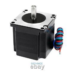 4 Axis DIY CNC Kit Mach3 Professional Control Board Nema23 1.32N. M Stepper Motor