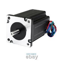 4 Axis DIY CNC Kit Mach3 Standard Control Board Nema24 2.94N. M Stepper Motor