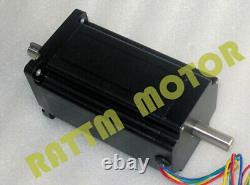 4 Axis NEMA 34 12nm Stepper Motor Driver Kit 1600oz-in cnc schrittmotor treiber