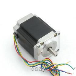 4 Axis Nema23 CNC Kit Stepper Motor Dual Shaft L76mm 270Oz +TB6560 DriverIn EU