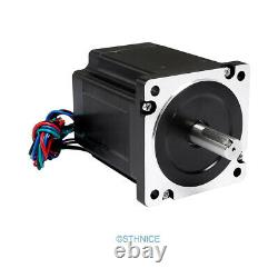 4 Axis Standard CNC Kit Nema34 Stepper Motor 60V PSU For Router/Mill/Plasma