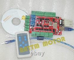 4 Axis USB CNC Controller Kit NEMA23 Dual shaft Stepper Motor 425oz-in 112mmEU