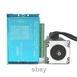 4Axis/3Axis 314oz-in 2.2NM Closed loop Stepper Motor Nema23 Drive For CNC Router