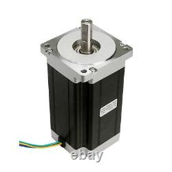 4Axis Nema 34 Stepper Motor 1700 oz. In 150mm Length 6A &Drivers Power CNC Kit