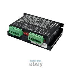 5 Axis CNC Kit & Digital EMA2-070D56 Stepper Driver For Nema 23, Nema 34 Motors