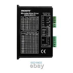 5 Axis DIY CNC Kit & EMA2-080A72 Stepper Drivers For Nema 34, Nema 42 2.4A-7.2A