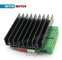 AT EU4 Axis Nema 23 Stepper Motor 270oz-in 76mm 3A+TB6560 Driver 34VDC CNC Kit