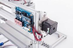 Bachin 3Axis Mini CNC2418 2500mW Laser Engraving Milling Machine ER11 Router Kit