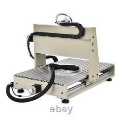 CNC 6040 3 Axis USB Engraver Kit VFD 3D Wood Milling Carving Machine 1500W UK