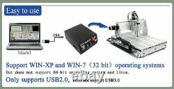 CNC 6040Z 2.2KW 4Axis Mach3 Engraving Milling Cutter Machine Router USB Kit EU