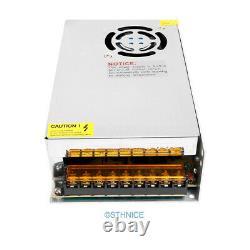 CNC Kit 3 Axis Breakout Board & Nema17 Stepper Motor For DIY Router/Mill/Plasma