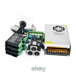 CNC Kit 3 Axis Nema11 13oz-in Stepper Motor 24V PSU For Mill/Router/Engraving