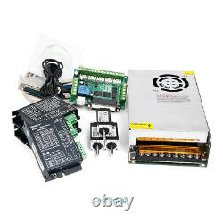 CNC Kit 3 Axis With Nema8 4.17oz-in Stepper Motor & EMA2-040D22 Stepper Driver