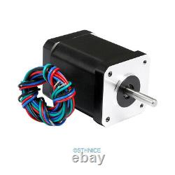 CNC Kit 4 Axis Professional Breakout Board Digital Stepper Drivers Nema17 Motor